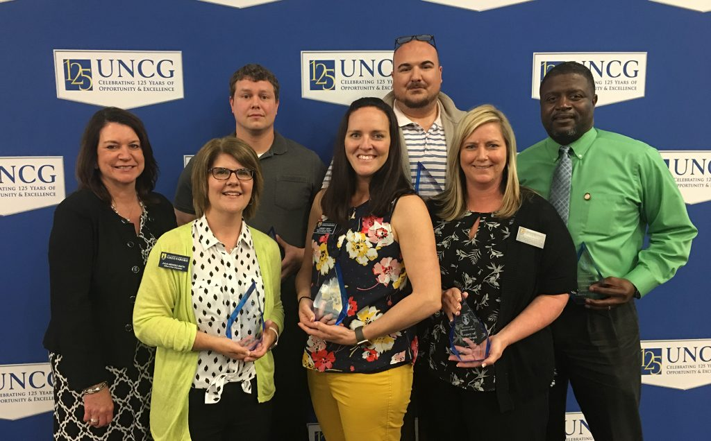 2018 Staff Excellence Award Winners