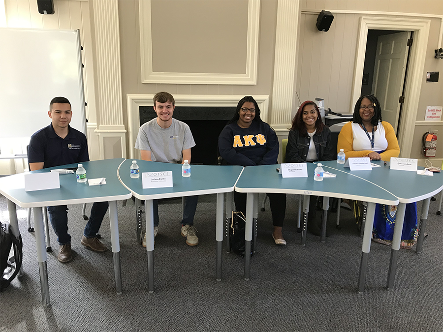Spartan leaders participate in an on-campus panel event