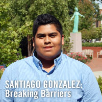 Santiago Gonzalez: Breaking Barriers